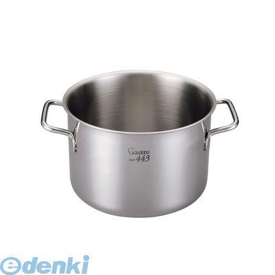 7685600 EBM Gastro 443 半寸胴鍋 蓋無 32 4548170137912【送料無料】