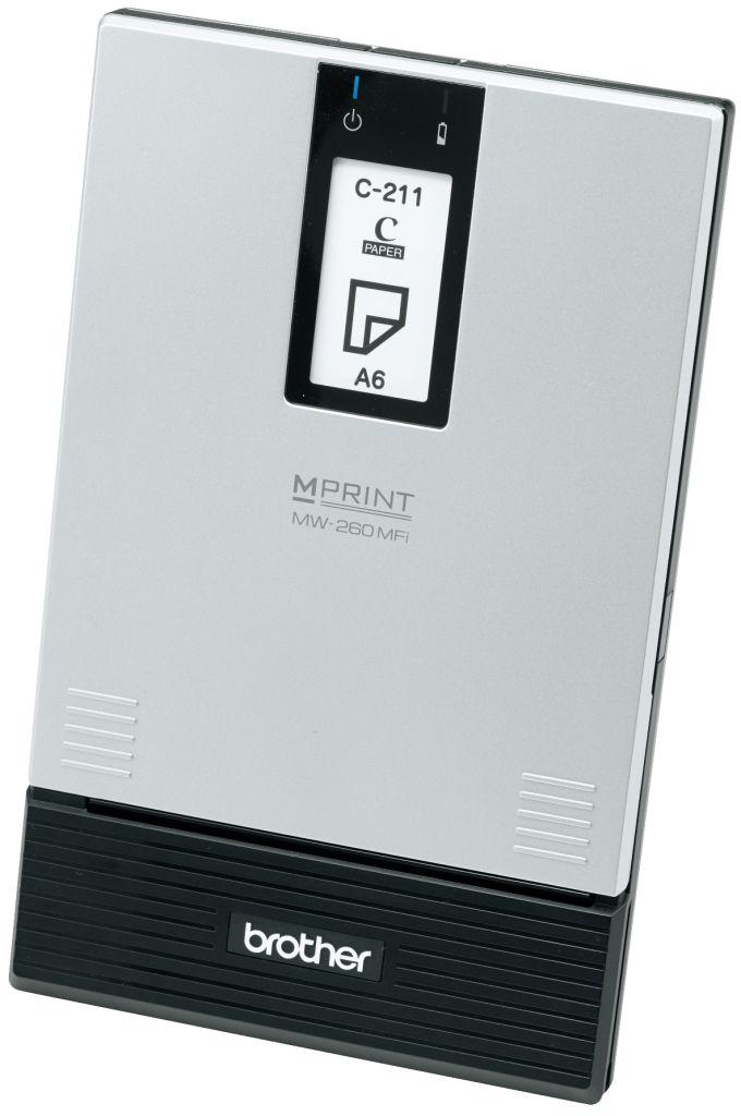 MW-260MFI 直送 代引不可・他メーカー同梱不可 ブラザー工業 モバイルプリンター MW-260MFi 【1入】