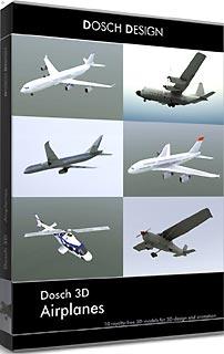 D3D-AIR 直送 代引不可・他メーカー同梱不可 DOSCH DESIGN DOSCH 3D: Airplanes 【1入】