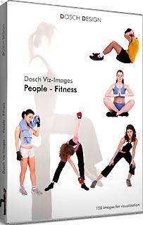 DVI-PFI 「直送」【代引不可・他メーカー同梱不可】 DOSCH DESIGN DOSCH Viz-Images: People ~ Fitness【キャンセル不可】