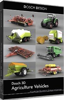 D3D-AGVE 直送 代引不可・他メーカー同梱不可 DOSCH DESIGN DOSCH 3D: Agriculture Vehicles 【1入】