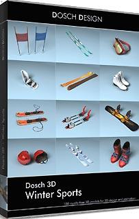 D3D-WISP 直送 代引不可・他メーカー同梱不可 DOSCH DESIGN DOSCH 3D: Winter Sports 【1入】
