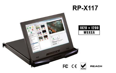 RP-X117SDI 「直送」【代引不可・他メーカー同梱不可】 オースティンヒューズ 1U 17インチ高解像度 LCDモニタードロアー(SDIオプション付)【キャンセル不可】
