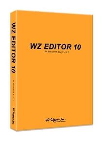 WZ-10 「直送」【代引不可・他メーカー同梱不可】 WZソフトウェア WZ EDITOR 10 CD-ROM版 【1入】