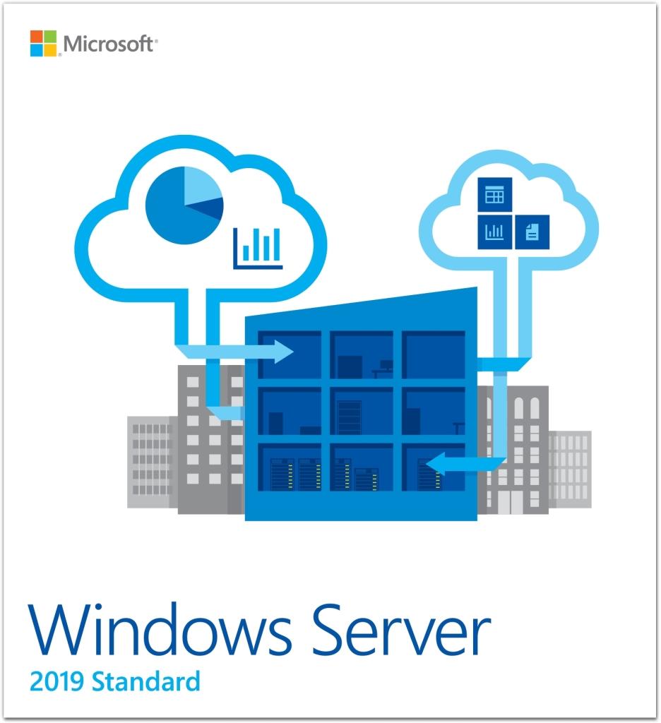 P73-07712 直送 代引不可・他メーカー同梱不可 日本マイクロソフト Microsoft Windows Server Standard 2019 64Bit Japanese 1 License DVD 16 Core License 10 Client 【1入】