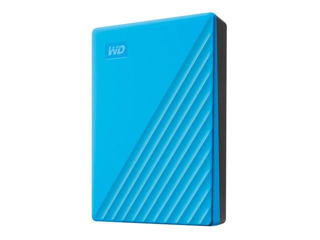 WDBPKJ0040BBL-JESN 直送 代引不可・他メーカー同梱不可 ウエスタンデジタル My Passport 4TB ブルー 【1入】
