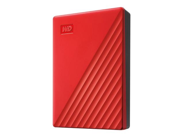 WDBPKJ0040BRD-JESN 直送 代引不可・他メーカー同梱不可 ウエスタンデジタル My Passport 4TB レッド 【1入】