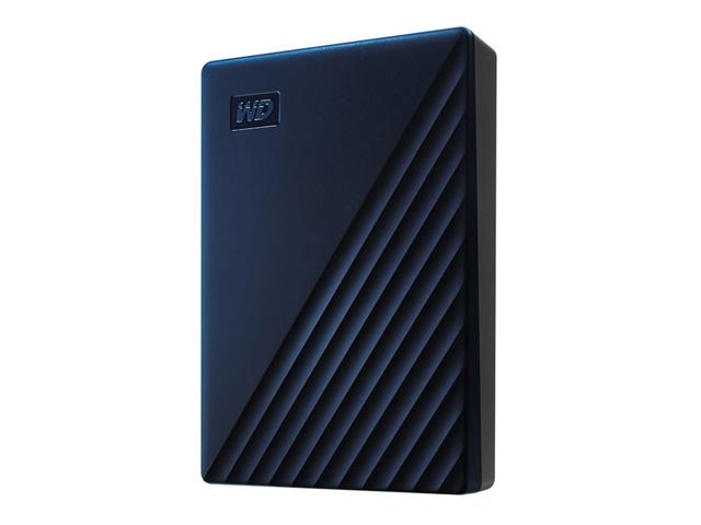WDBA2F0040BBL-JESN 直送 代引不可・他メーカー同梱不可 ウエスタンデジタル My Passport for Mac 4TB ブルー 【1入】