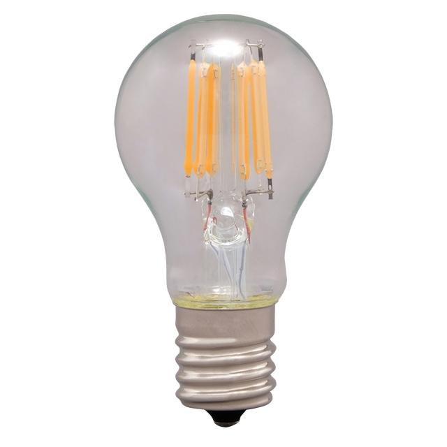 【24入】 ミニクリプトン球 40W相当 アイリスオーヤマ E17 LDA4L-G-E17-FC 直送 代引不可・他メーカー同梱不可 電球色