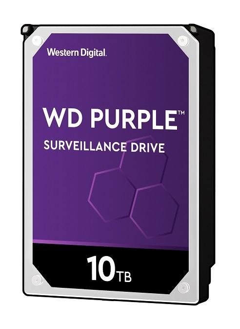 WD102PURZ-R 直送 代引不可・他メーカー同梱不可 ウエスタンデジタル WD Purple 監視用 3.5インチ内蔵HDD 10TB SATA6Gb/s 7200rpm 256MB 【1入】