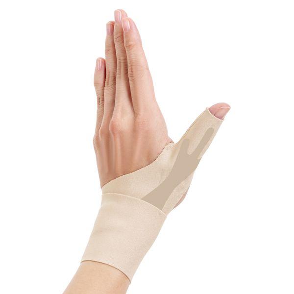 アルファックス 434719 お医者さんの手首サポーター Fit ベージュ Sサイズ おすすめ フィット いよいよ人気ブランド 左手用