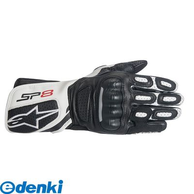 アルパインスターズ alpinestars 8021506614746 STELLA SP-8 V2 LEATHER GLOVE カラー:BLACK WHITE サイズ:XL