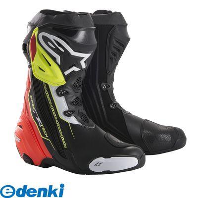 アルパインスターズ alpinestars 8021506924128 SUPERTECH-R BOOT カラ-:136 BLACK RED YELLOW FLUO サイズ:39 25.0