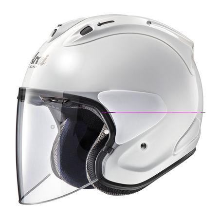 アライヘルメット 4530935524129 ヘルメット VZ-RAM グラスホワイト 57-58 M