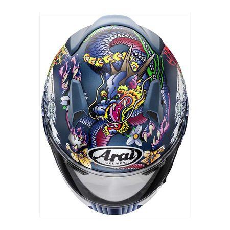 アライヘルメット 4530935521166 XD ORIENTAL 青 55-56