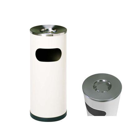 ミヅシマ工業[2210020] クリンスモーキング SS101 アイボリー Φ265×600mm