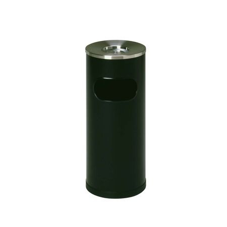 ミヅシマ工業 2210030 クリンスモーキング SS101 ブラック Φ265×600mm