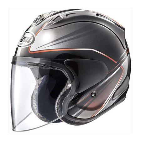 アライヘルメット 4530935527717 VZ-RAM WEDGE ダークグレー 55-56