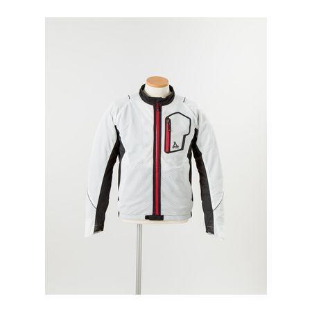 J-AMBLE[4580412701994] urbanism サマーメッシュラインジャケット WHITE 3L UNJ-053