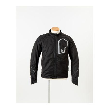 J-AMBLE[4580412702090] urbanism サマーメッシュラインジャケット BLACK 3L UNJ-053