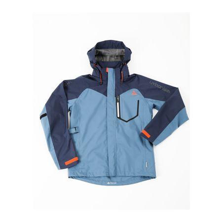 J-AMBLE 4580412702786 urbanism アーバニズムストレッチレインスーツ BLUE GRAY/NAVY 3L UNR-301
