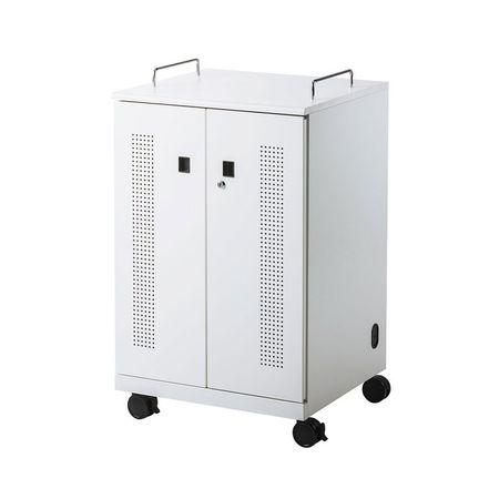 【個数:1個】サンワサプライ CAI-CAB104W ノートパソコン収納キャビネット【12台収納】 CAICAB104W