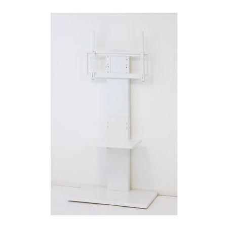 クロシオ 32646 直送 代引不可・他メーカー同梱不可 壁掛け風テレビ台ハイ【ホワイト】