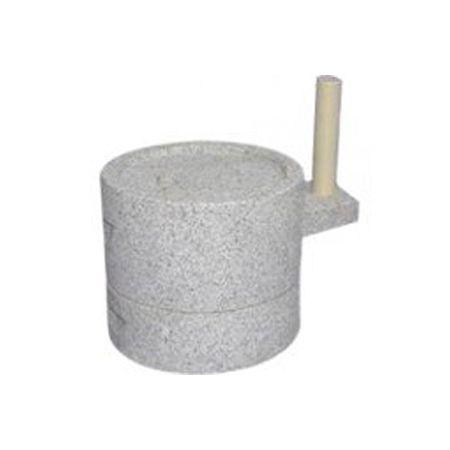 2337 ナガノ産業 みかげ石 挽き臼 24Φ 24cm