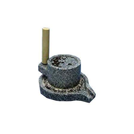 2341 ナガノ産業 みかげ石 ミニ茶臼