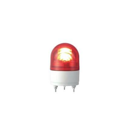 パトライト RHE-100-R LEDカイテントウ LED小型回転灯 赤 RHE100R