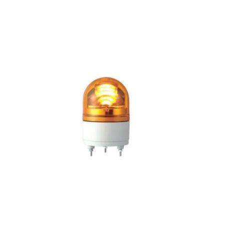 パトライト RHEB-24-Y LEDカイテントウ LED小型回転灯 黄 RHEB24Y