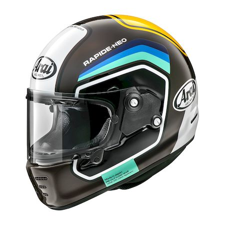 アライヘルメット 4530935570102 RAPIDE-NEO NUMBER ブラウン 54 XS
