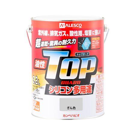 カンペハピオ[00017640461032]油性トップガード ぎん色 3.2L