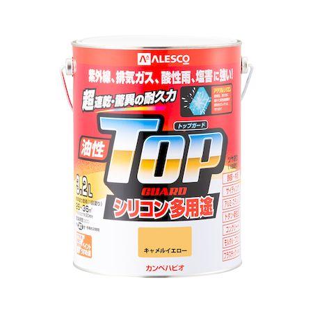 カンペハピオ[00017640751032]油性トップガード キャメルイエロー 3.2L