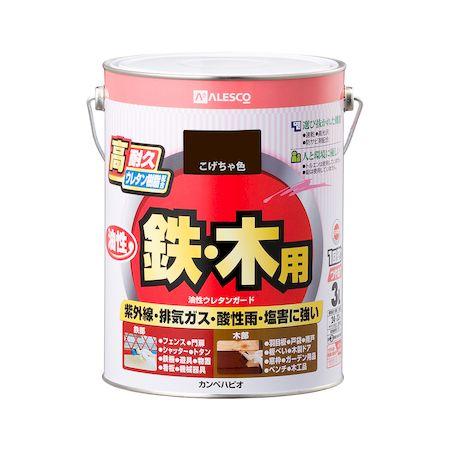 カンペハピオ[00037640161030]油性ウレタンガード こげちゃ色 3L