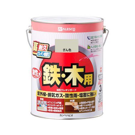 カンペハピオ[00037640461030]油性ウレタンガード ぎん色 3L