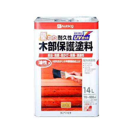 カンペハピオ 00237643551140 油性木部保護塗料 スプルース 14L