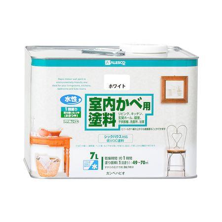 カンペハピオ 00317654011070 室内かべ用塗料 ホワイト 7L