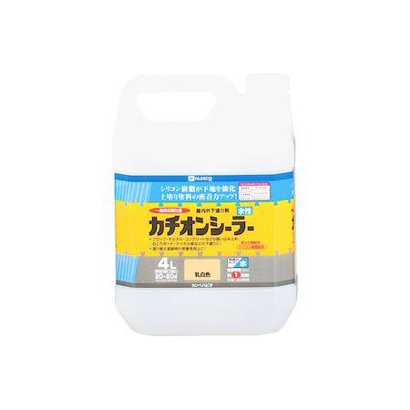 カンペハピオ[00587654611040]水性カチオンシーラー 乳白色 4L