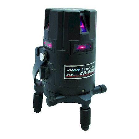 割引も実施中 STS CR-440R 高輝度レーザー墨出器 使い勝手の良い CR-440R CR440R 直送 あす楽対応