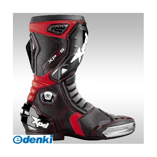 RSタイチ [4997035583720] XPN018 XPD XP-3S BLACK/RED 25.5cm