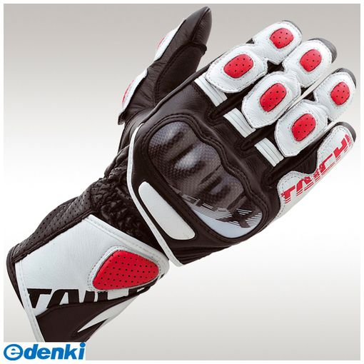 RSタイチ 4997035606290 NXT053 GP-X レーシンググローブ WHITE/RED XL