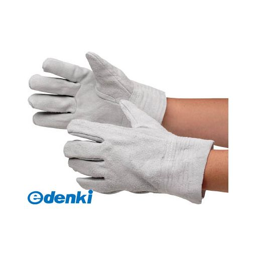 【あす楽対応】ミドリ安全 [MT101] 牛床革手袋 内縫 12双入 MT-101