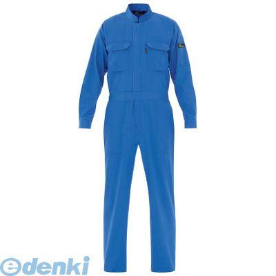 ミドリ安全 VE413-S ベルデクセル T/C帯電防止ツナギ服 ブルー SVE413S