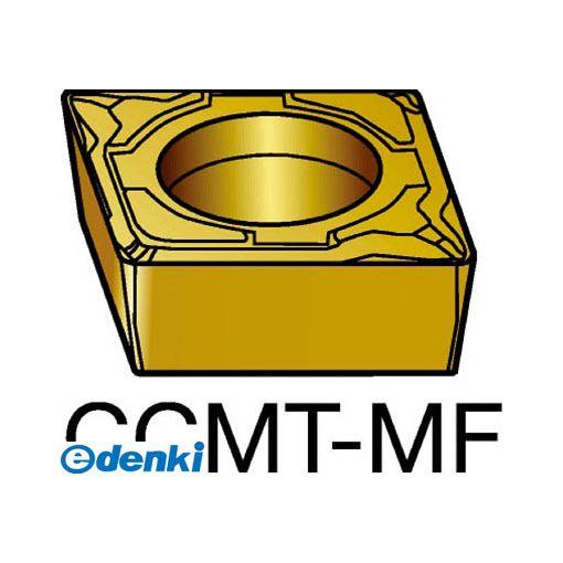 【あす楽対応】サンドビック(SV) [CCMT060204-MF1105] 【10個入】 コロターン107 旋削用ポジ・チップ 1105 COATCCMT060204MF87161105