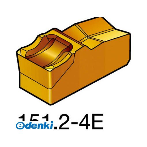 N151.2-600-4E1145 【10個入】 サンドビック T-Max 突切り・溝入れチップ SV Q-カット 1145 COATN151.26004E87161145