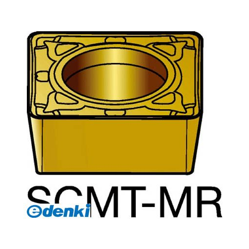 サンドビック SV SCMT120412-MR2035 【10個入】 コロターン107 旋削用ポジ・チップ 2035 COATSCMT120412MR87162035