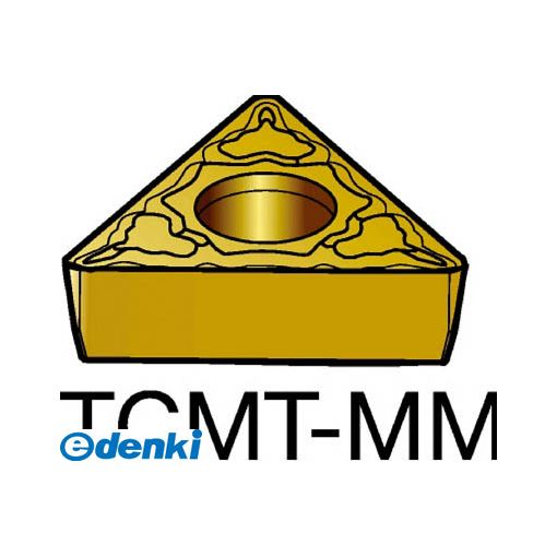 サンドビック SV TCMT16T308-MM2035 【10個入】 コロターン107 旋削用ポジ・チップ 2035 COATTCMT16T308MM87162035