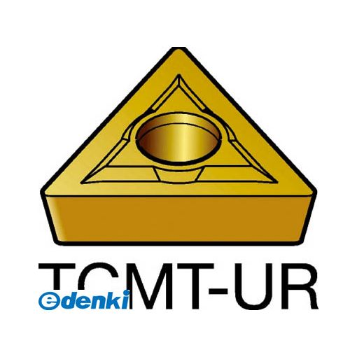 サンドビック SV TCMT16T308-UR235 【10個入】 コロターン107 旋削用ポジ・チップ 235 COATTCMT16T308UR8716235