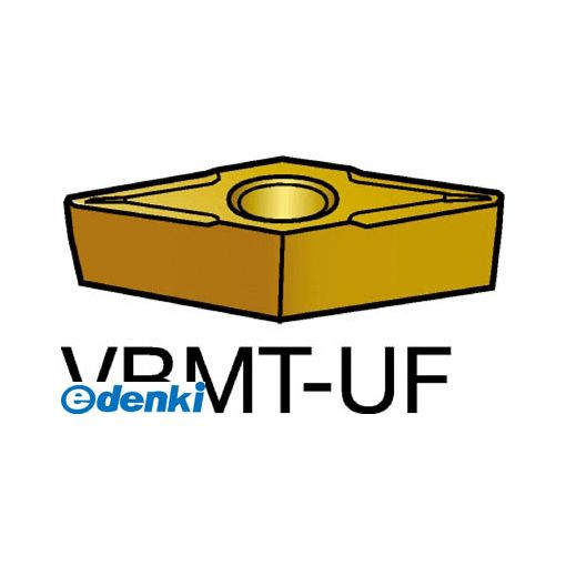 【あす楽対応】サンドビック(SV) [VBMT110202-UF5015] 【10個入】 コロターン107 旋削用ポジ・チップ 5015 CMTVBMT110202UF87165015